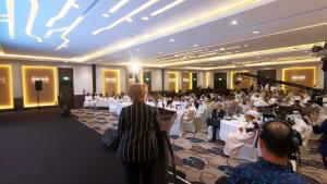 Manahel Thabet PhD President of Economic Forum for Sustainable Development participated in the Forum of Innovation and Industry of the Future – Ras Al Khaimah - February 24, 2019 #ManahelThabet #Economist #100mostpowerfulWomenintheMiddleEast #ForumofInnovationandIndustryoftheFuture #RAK2019
