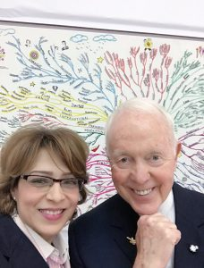 Happy Birthday to my dear friend, mentor and mind master @Tony_Buzan the beacon of mind power enhancement and the leader of global mental literacy ❤️