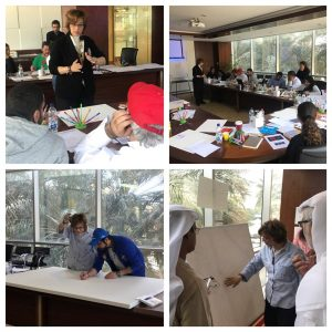 Traning the amazing team of #DIFF to launch an extra ordinary way to demonstrate complex process @Tony_Buzan