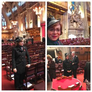 Honored to be a special guest of the silent ceremony of the new Lord Mayor of the city of London #lordmayorsshow