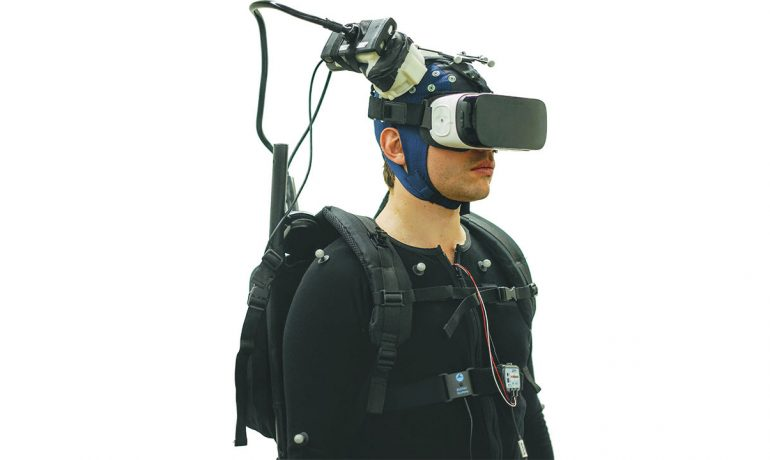 Brain-scanning backpack brings neuroscience into the real world