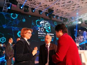 Digital Agenda Into the Globalization 2.0, Almaty 2019 1